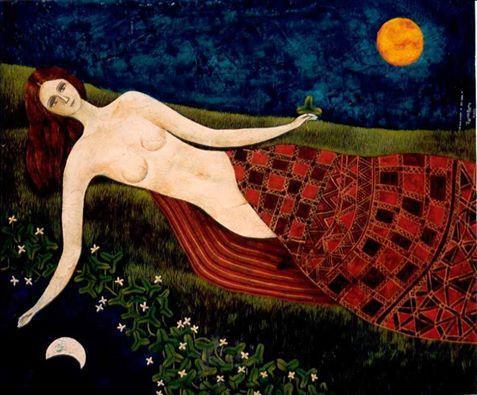 Chica y luna