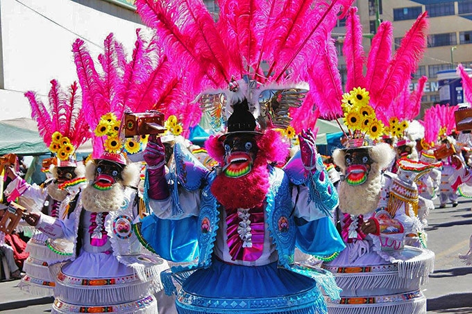 Karnevallet i La Paz - Bolivia
